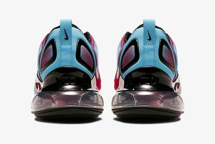 Nike Air Max 720 University Red Blue Fury Heels