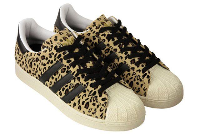 Adidas Abc Mart Superstar Leopard 1