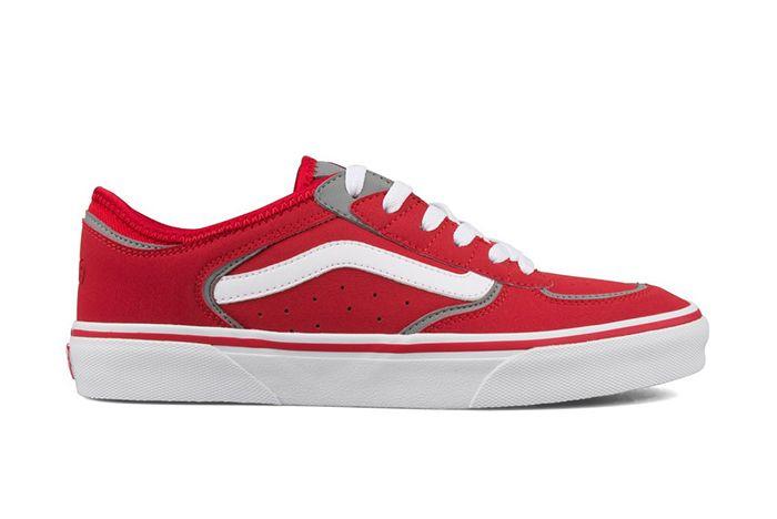 Vans Vault Rowley Classic Lx Black Red 3 Sneaker Freaker