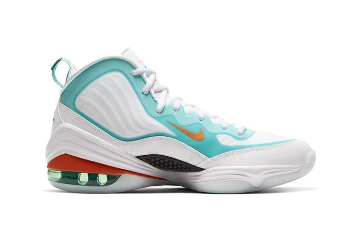 Nike Air Penny 5 Miami Dolphins Medial
