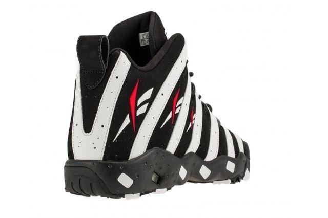 Reebok The Big Hurt Black White Heel