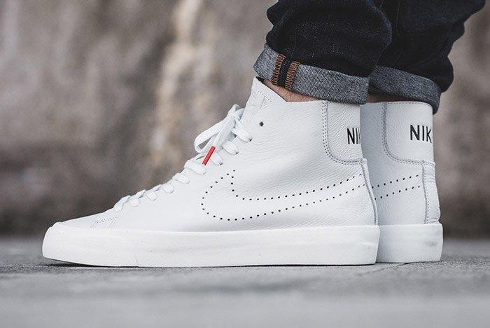 Nike Blazer Studio Mid White 3