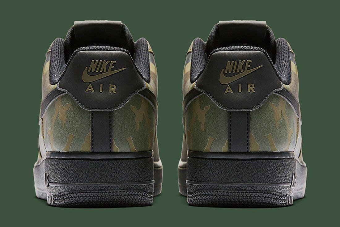 Nike Air Foce 1 Camo Reflective 4