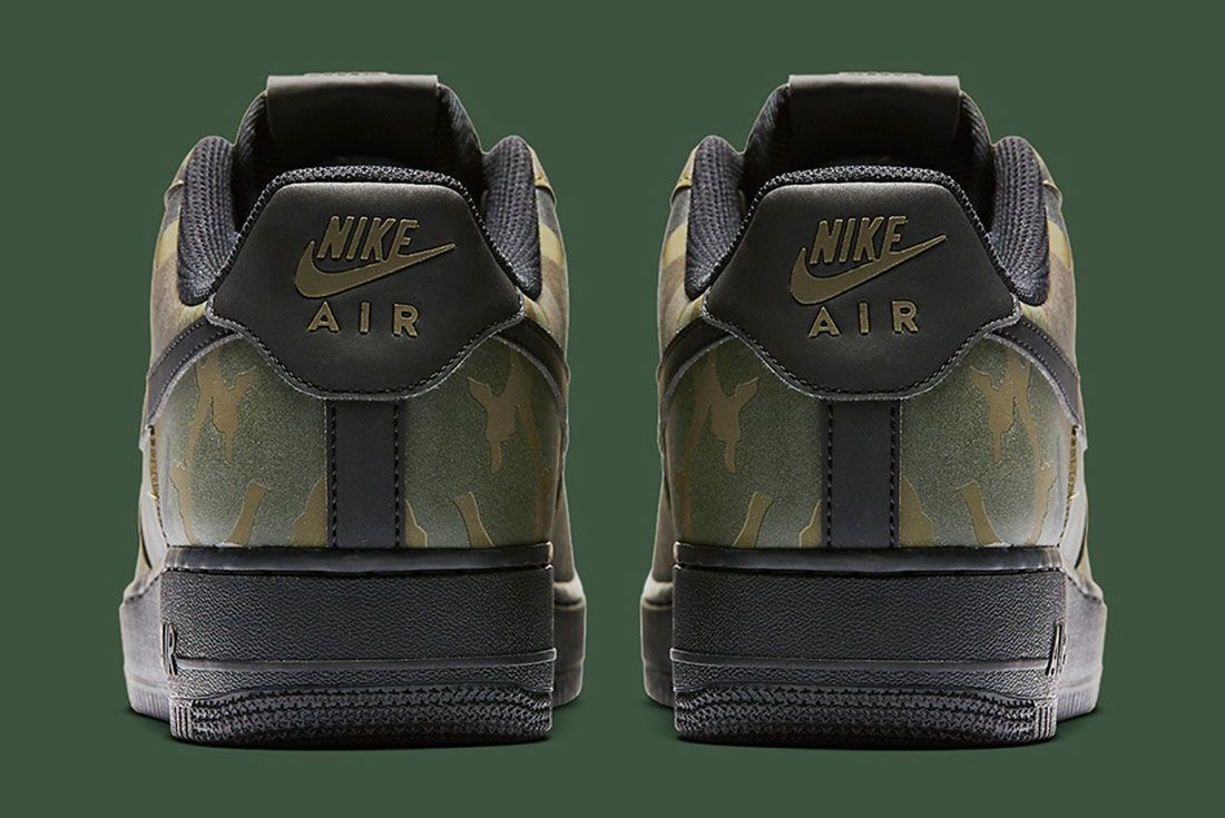 Nike Air Foce 1 Camo Reflective 4