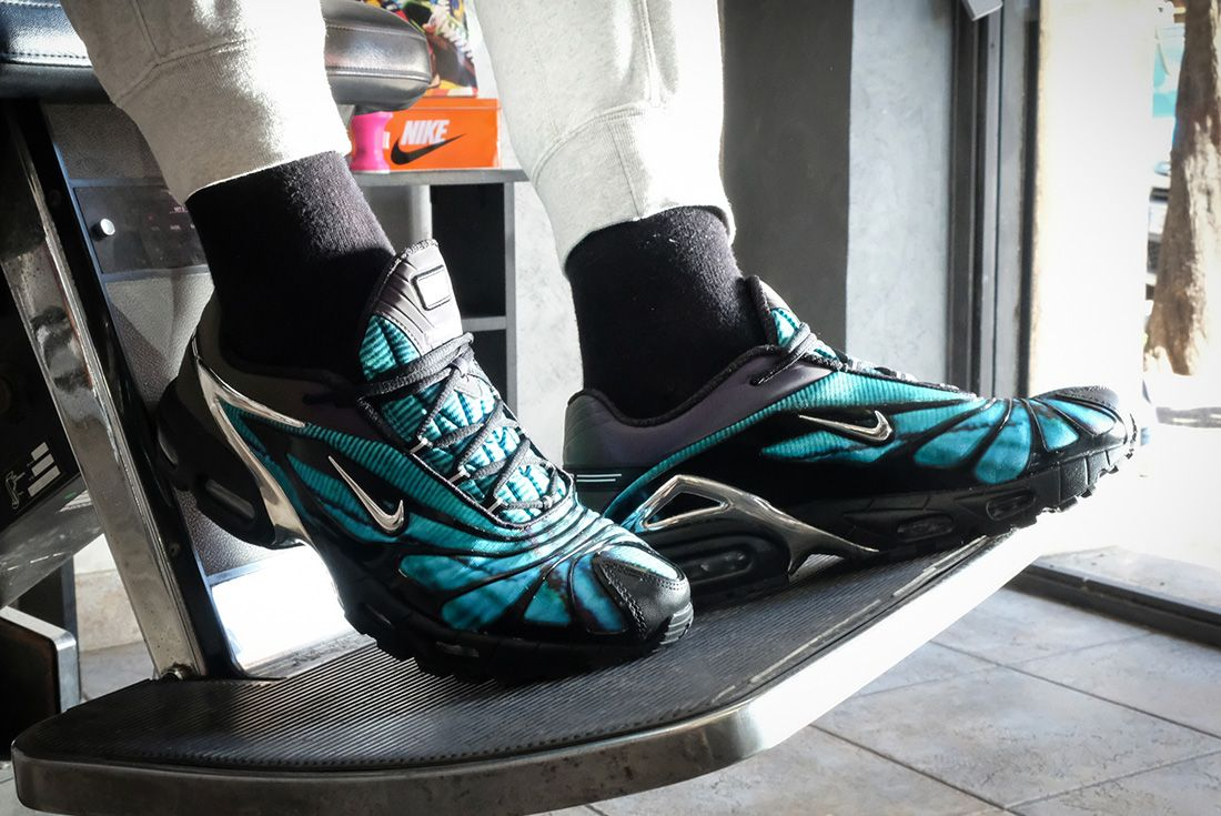 Urbanstar Roma Snap the Skepta x Nike Air Max Tailwind 5 On-Foot ...