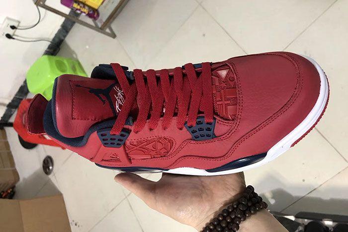 Air Jordan 4 Fiba Gym Red Ci1184 617 Release Date First Look