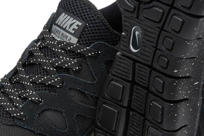 Nike Free Run 2 Oreo4