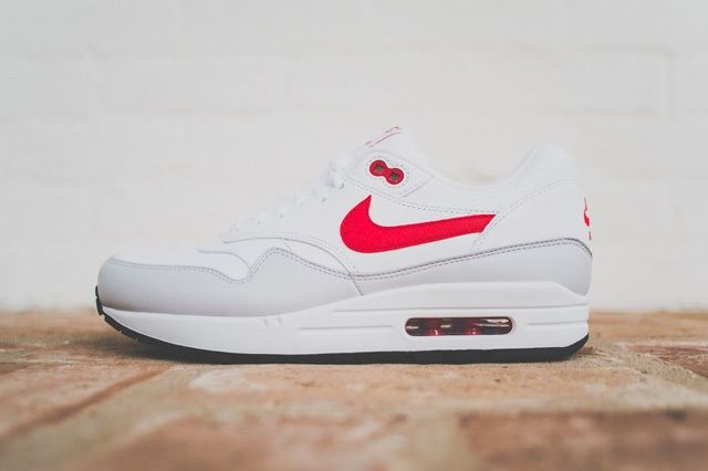 Nike Air Max 1 Leather Og White Uni Red 3