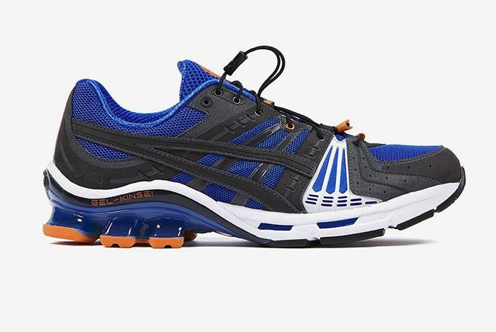 Affix Works Asics Gel Kinsei Blue Lateral Side Shot