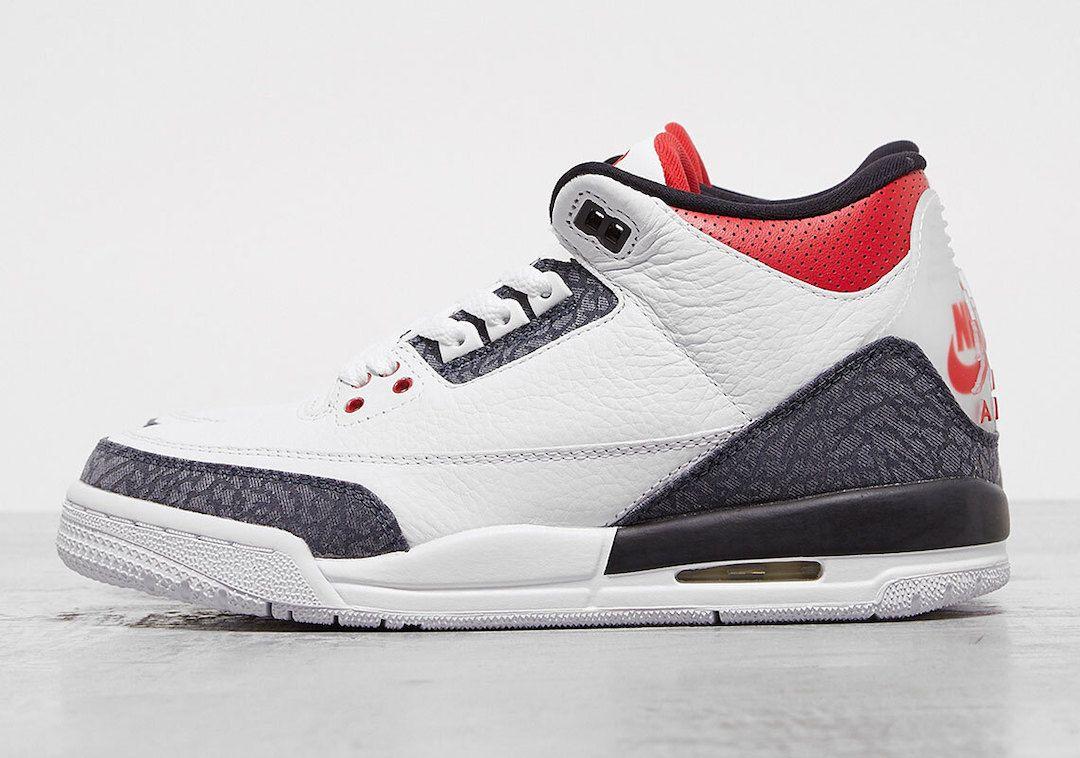 "Air Jordan 3 SE Denim ""Fire Red�"