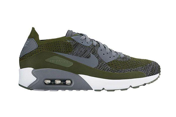 Nike Air Max 90 Flyknit Green
