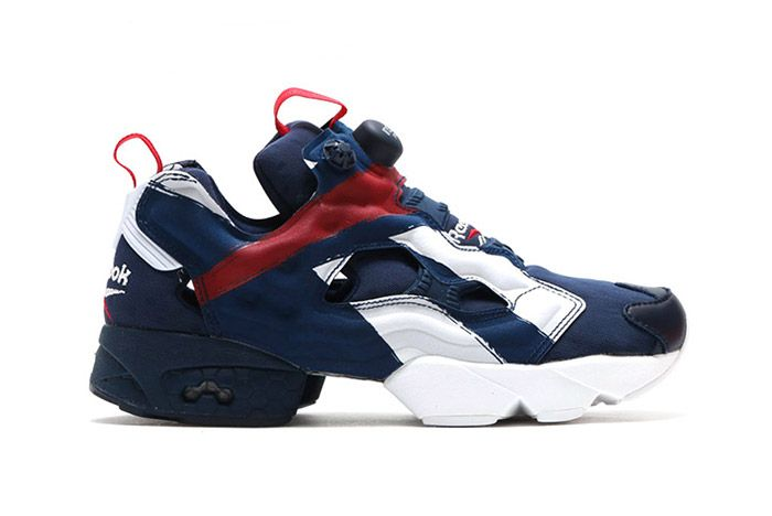 Reebok Insta Pump Fury Big Logo Red White Blue 1