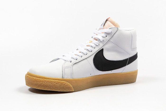 Nike Sb Zoom Blazer Mid Cd2569 100 2Side Angle