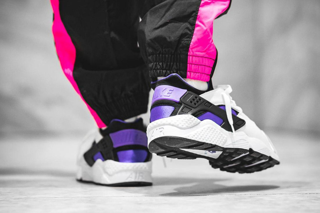 Nike Air Huarache Run 91 Qs 2018 Purple Punch 8