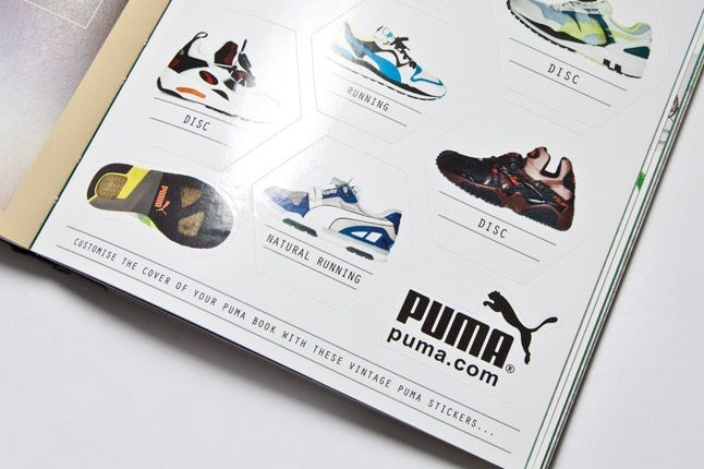 Puma Running Book Stickers 1