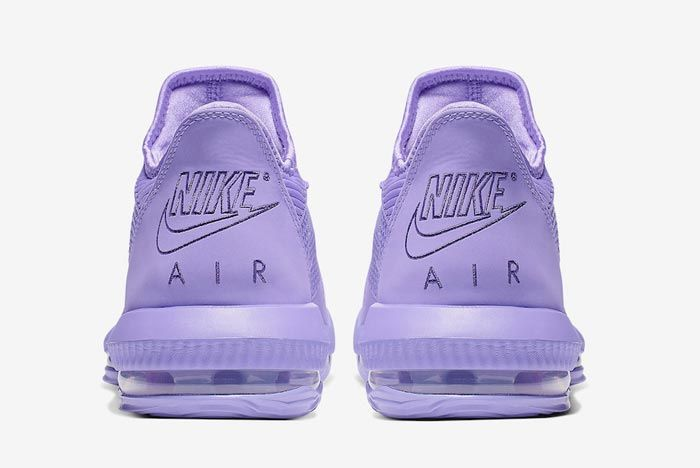 Nike Lebron 16 Low Purple Heels