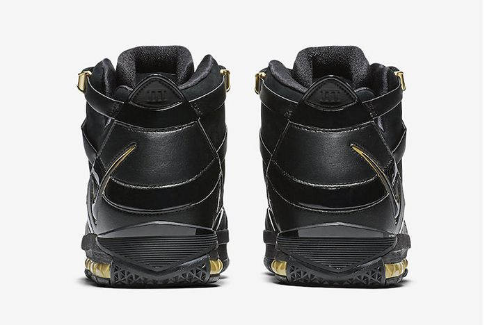 Nike Zoom Lebron 3 Black Gold 2018 Retro 5