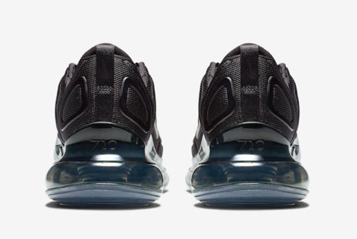 Nike Air Max 720 Triple Black Release Date Heel