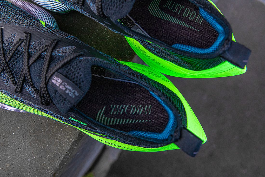 nike air zoom alphafly next% up close