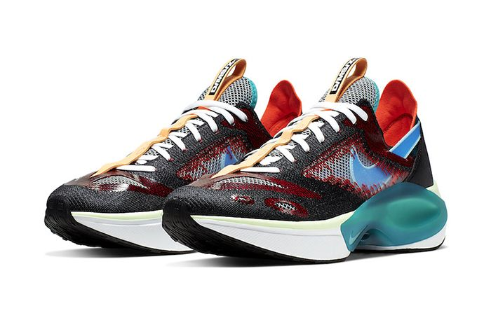 Nike D Ms X Dimsix Signal Fk Black Blue Hero At5405 001 Release Date Pair