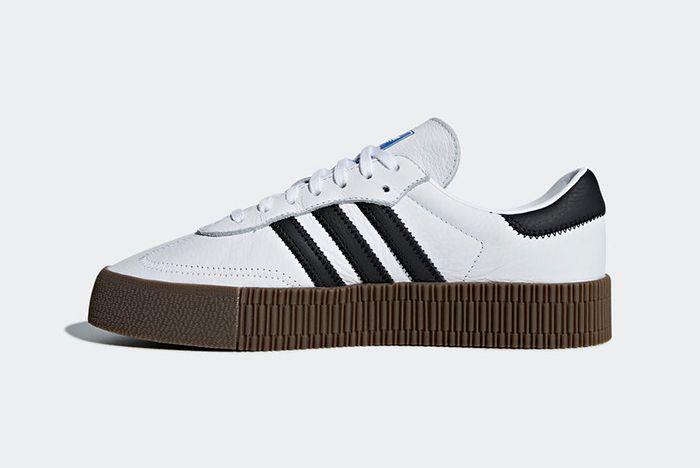 Adidas Sambarose White 4