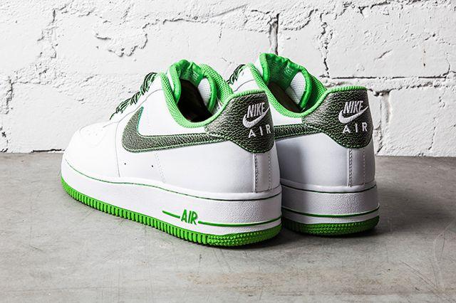 Nike Air Force 1 Green Apple 2