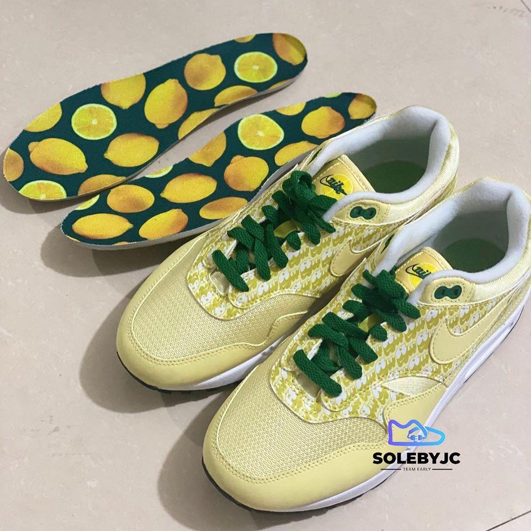 Nike Air Max 1 'Lemonade' Leak