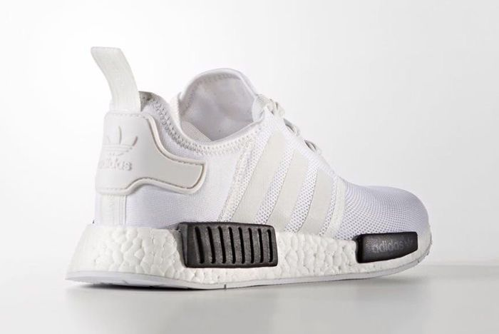 Adidas Nmd R1 White Black3
