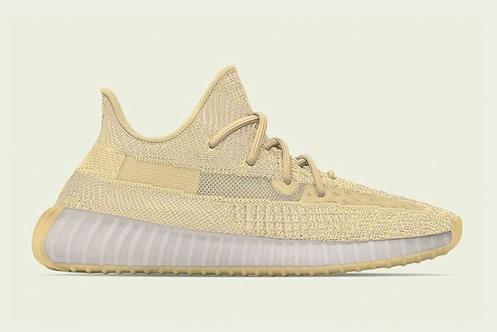 Adidas Yeezy Boost 350 V2 Flax Lateral