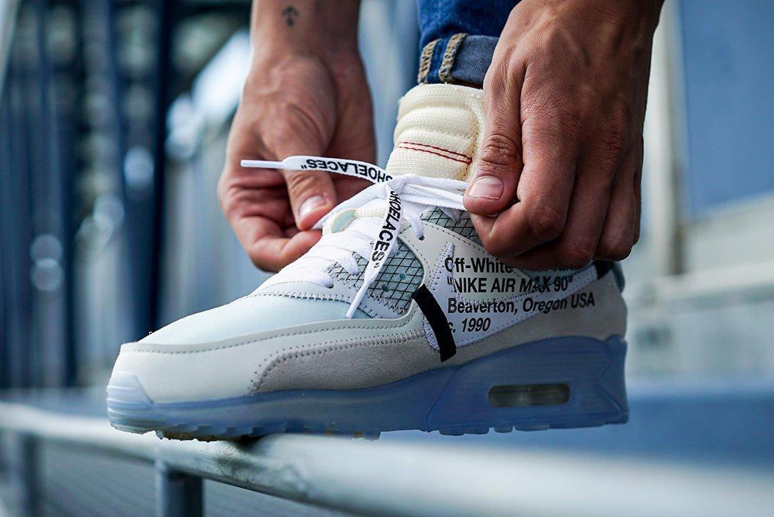 Off White X Nike Air Max 90 4