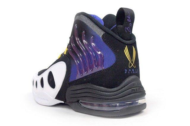 Nike Sonic Flight Purple Yellow 5