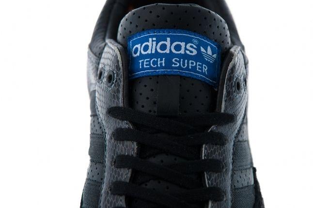 Adidas Tech Super Snakeskin Pack Black Detail Tongue 1