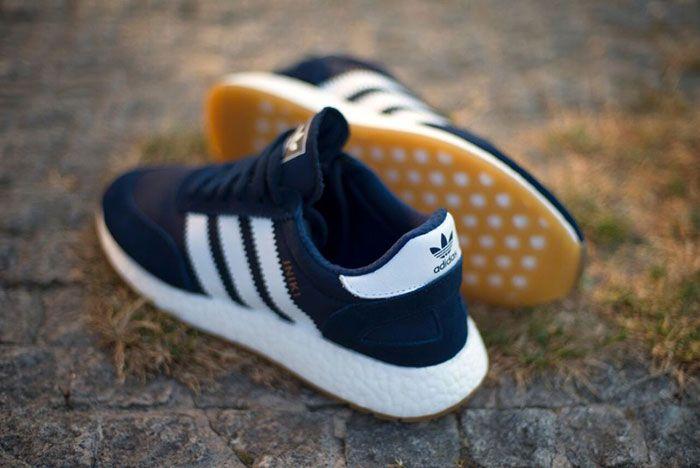 Adidas Iniki Runner Navy Blue Gum 2