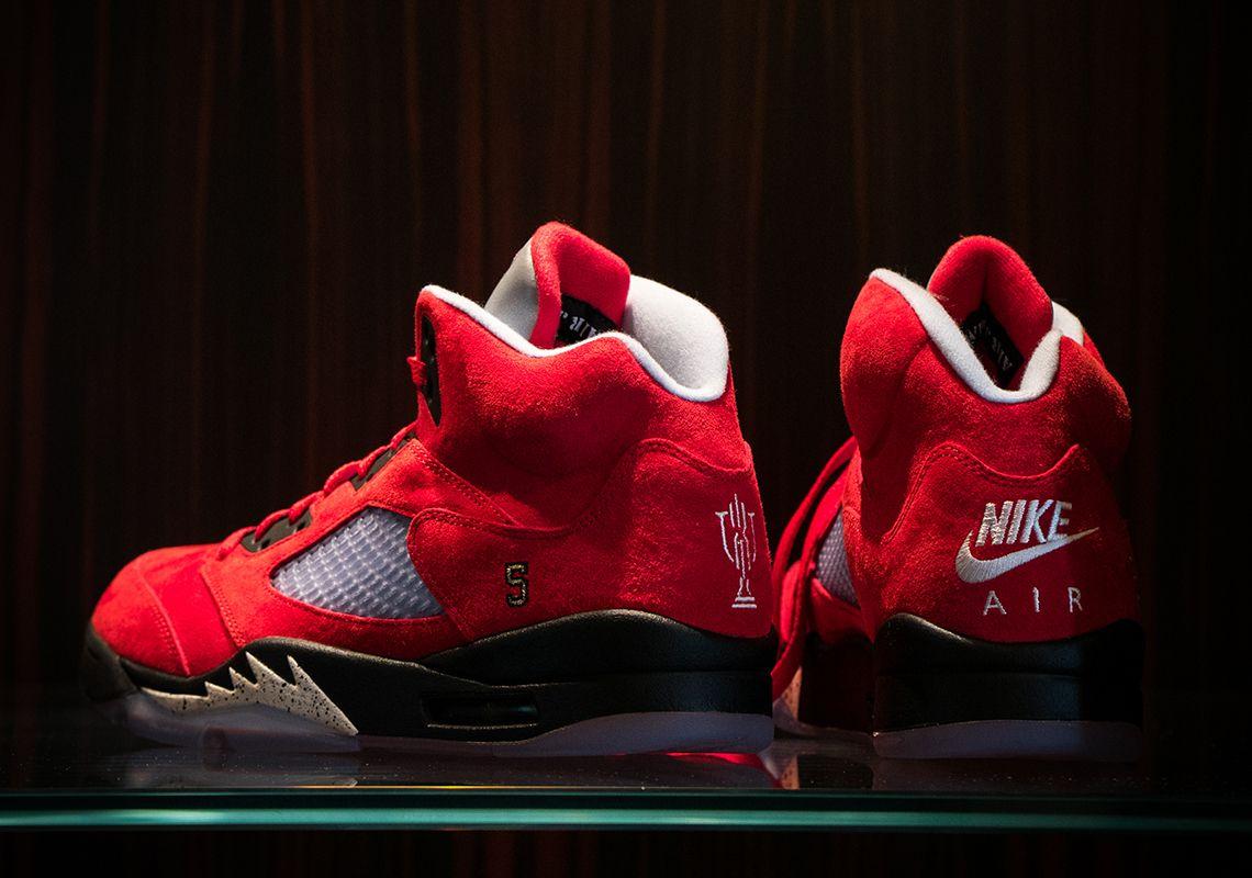 Air Jordan 5 Trophy Room 'University Red'