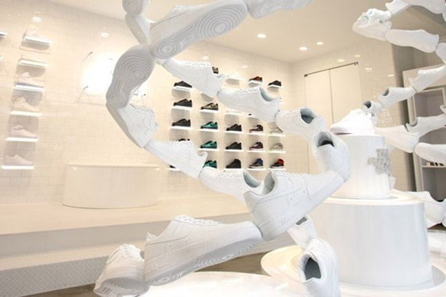 Nike Air Force 1 Xxx Anniversary The Pivot Point Pop Up Shop Tokyo Shoe Art 1