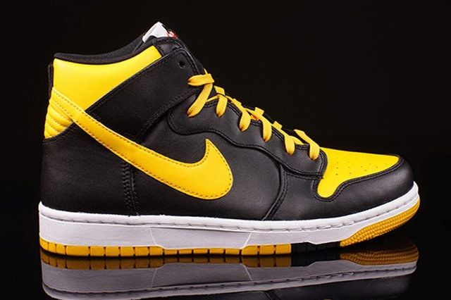 Nike Dunk High Cmft University Gold 2