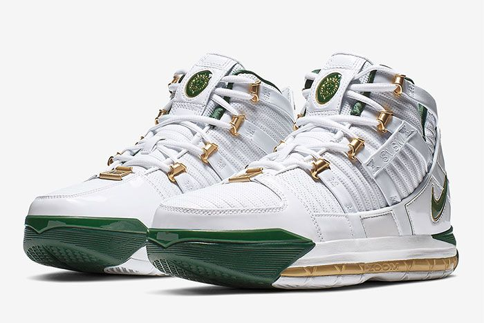 Nike Lebron 3 Svsm Home Toe