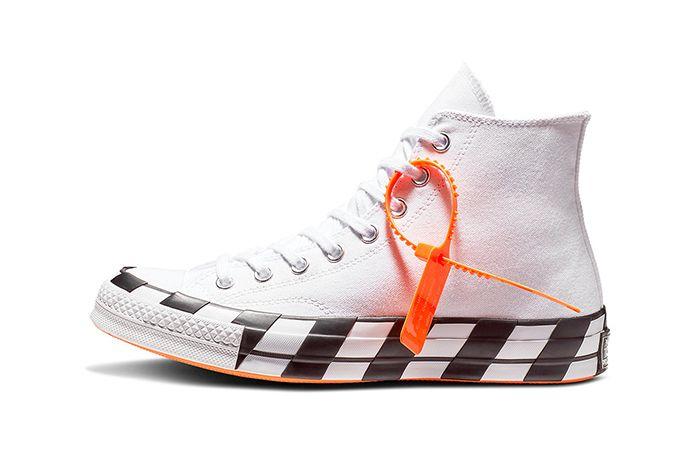 Off White Converse Chuck 70 Stripe White Official 2