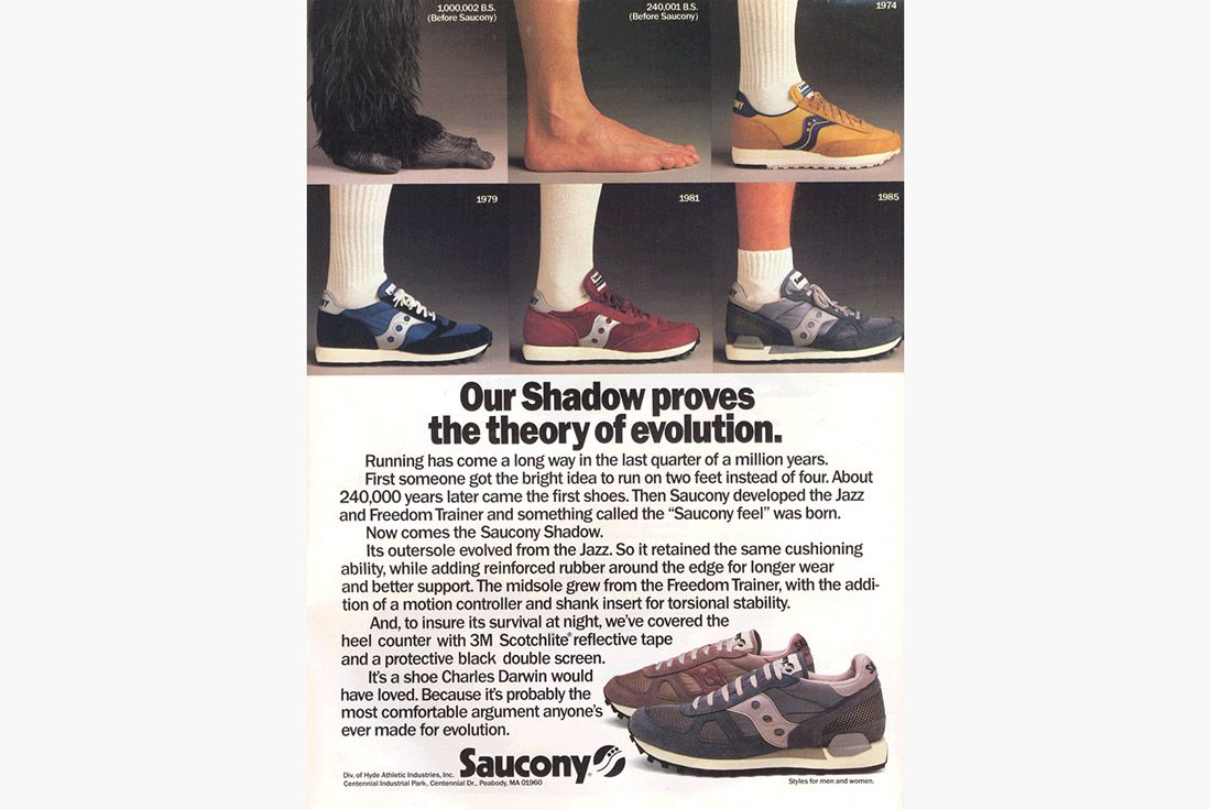 Material Matter What Is 3 M Reflective Vintage Advertisement Saucony 1