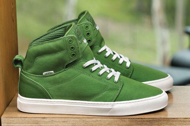 Vans Otw Alomar Basic Green White Spring 2013 1