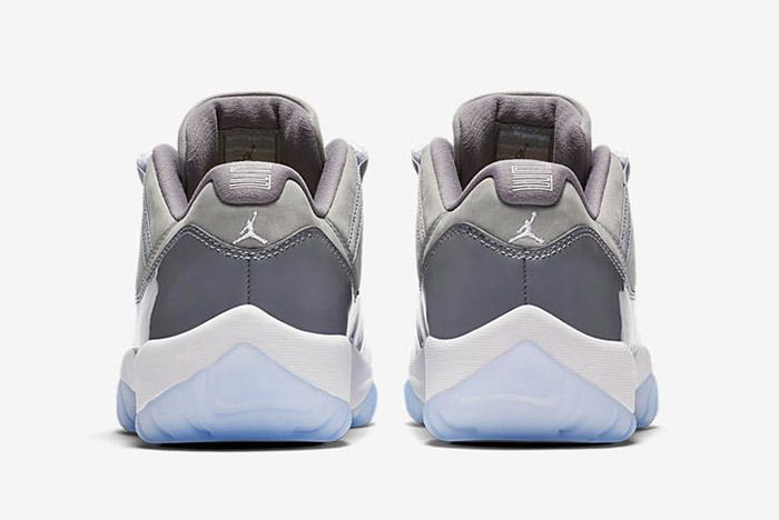 Air Jordan 11 Cool Grey Low 1