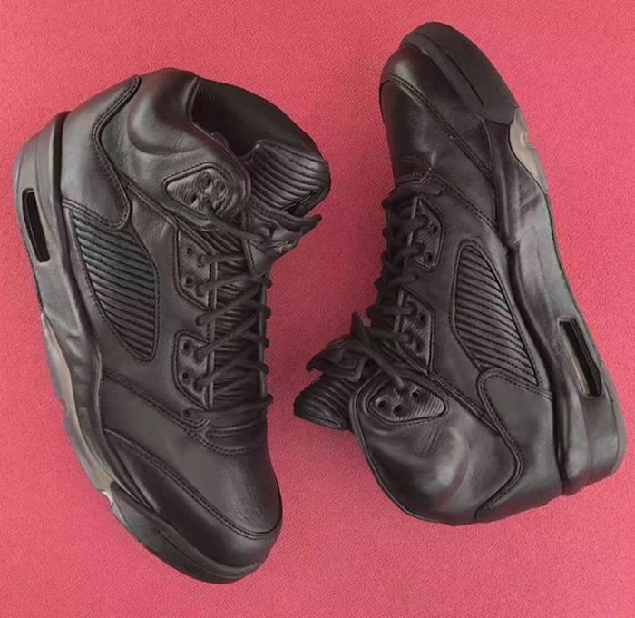 Air Jordan 5 Premium Triple Black8