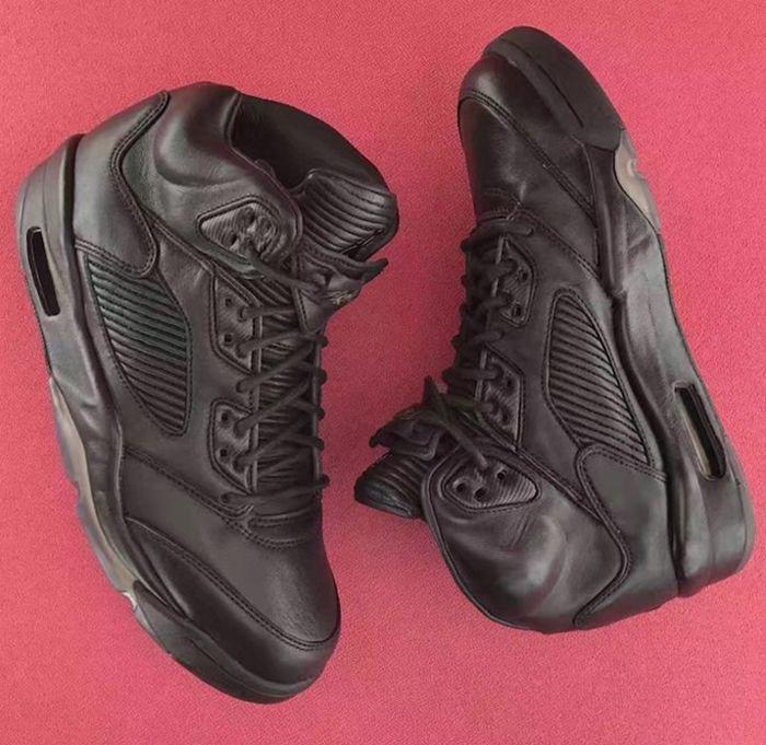 Air Jordan 5 Premium Triple Black8