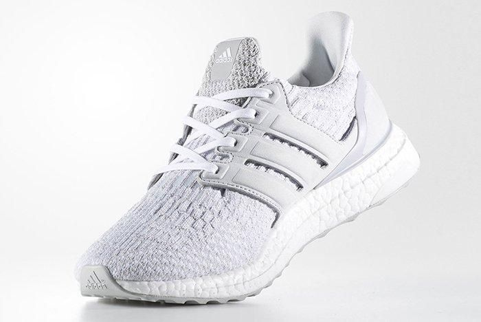 Reigning Champ X Adidas Ultra Boost Triple White5