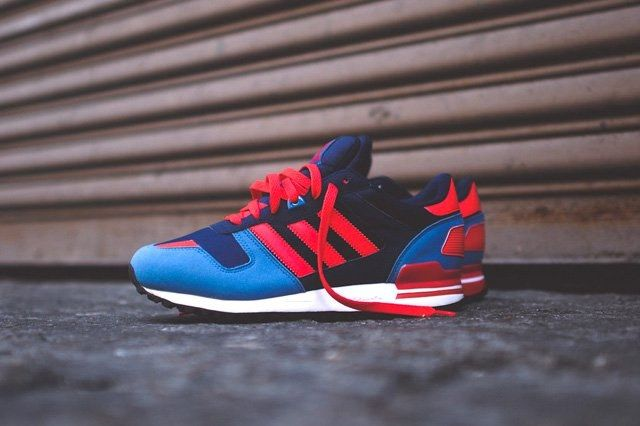 Adidas Zx 700 Navy Blue Red 1