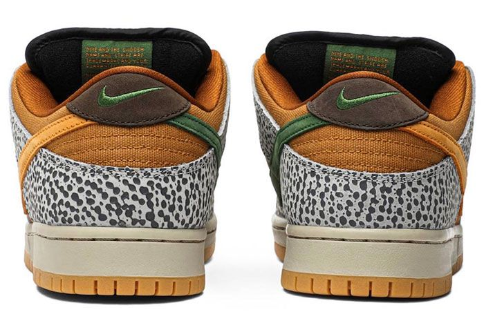 Nike Sb Dunk Low Safari Heel