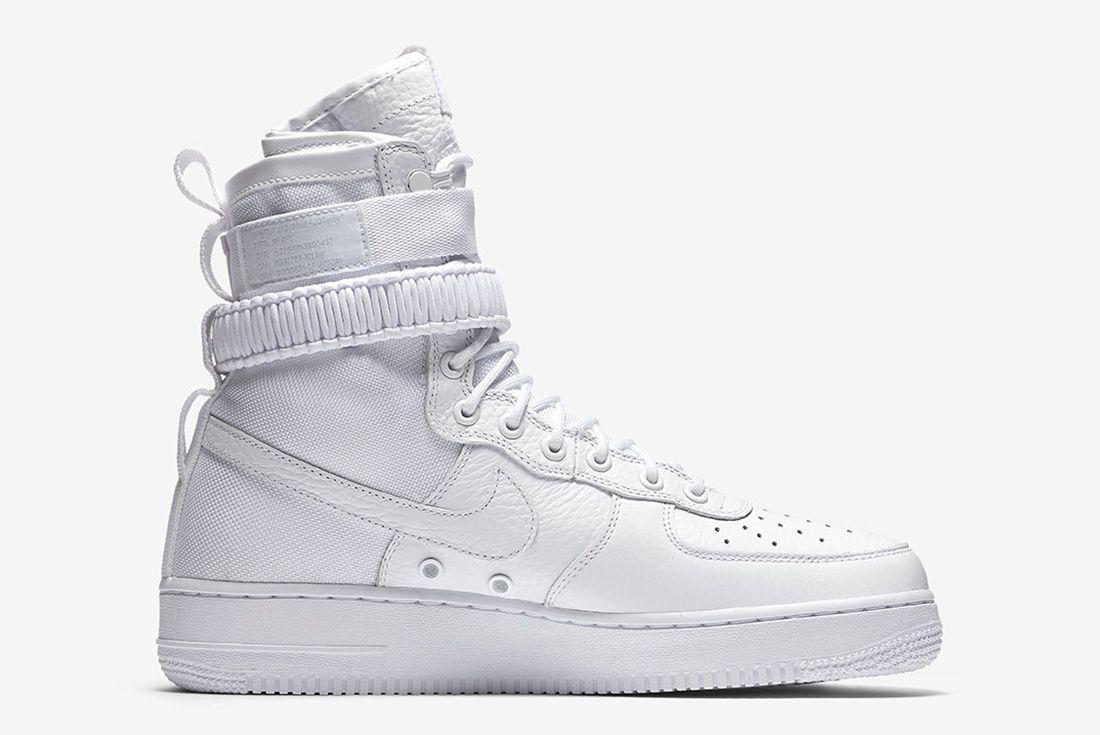 Nike Sf Af1 Triple White5