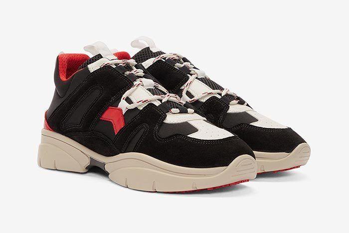 Isabel Marant Kindka Mountain Sneaker Black 3