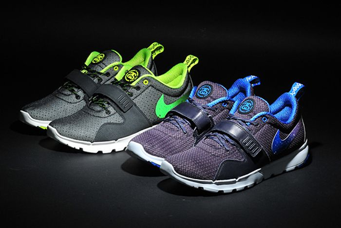 Stussy Nike Trainerendor Both Pairs Front Full