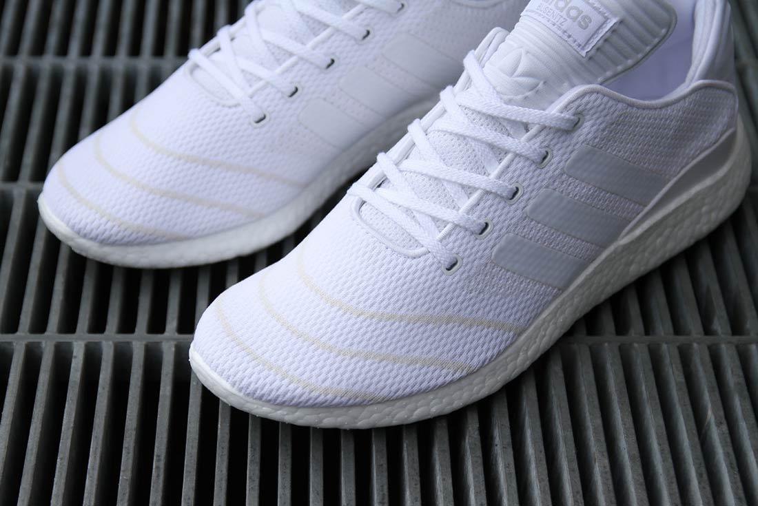 Adidas Busenitz Pure Boost Triple White 5